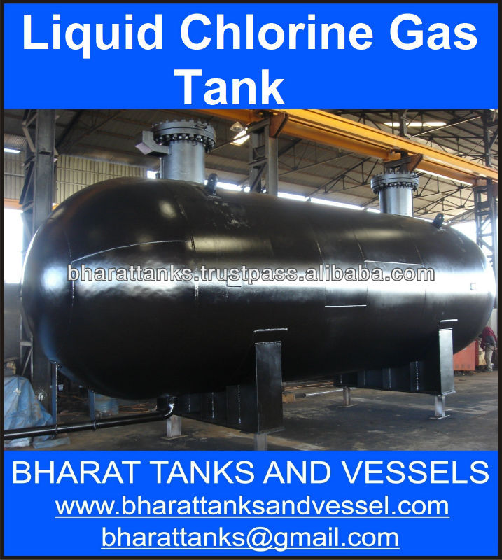 Liquid Chlorine Gas Tank
