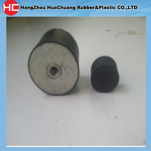 small threaded rubber mounts female inside 10*10 with M3
