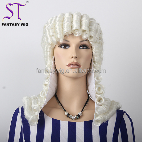 2015 Vogue Synthetic Wave Buy Barrister Wig Wholesale OEM