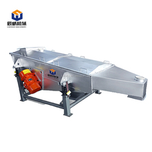 linear ceramic sand vibration sieve machine with high efficiency