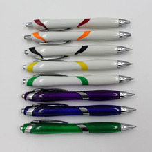 ball pen with logo and functions promotional short plastic ballpoint pen manufacturer