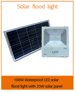0utdoor waterproof 50w led solar flood light with remote control