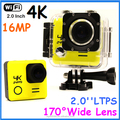 Ultra HD 4K 24FPS Sport Action Video Camera WiFi Novatek 96660 16MP 2 Inch 30M Waterproof Deportiva Cam