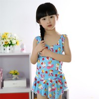 Wonderful waterproof fashion swimwear for young girls