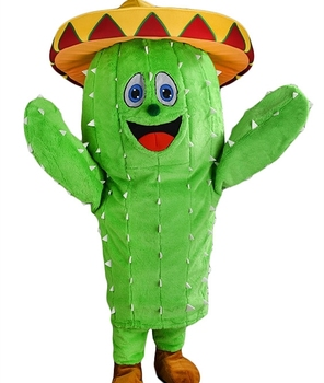 cactus mascot costume for adult