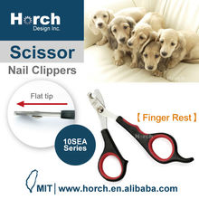 Optimal pet paw care with 4 finger rest dog grooming nail clipper