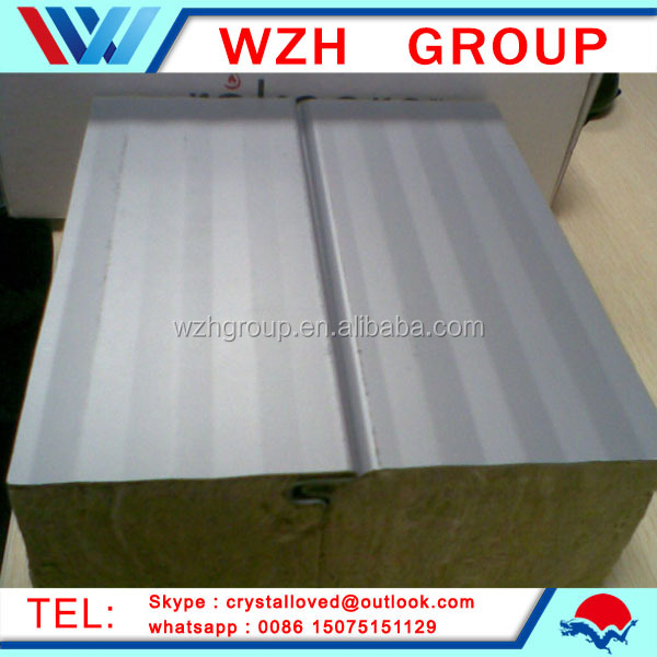Light weight garage wall panel polyurethane sandwich panel price from china supplier