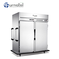 Catering Double Temperature Heated Cold Mobile Food Warmer Holding Cabinet Car For Sale