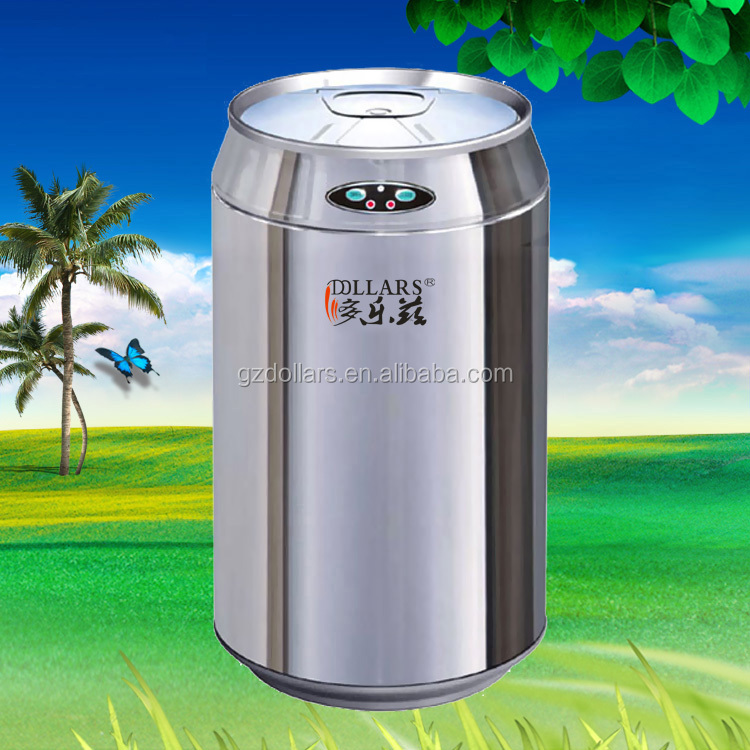 304 stainless steel sensor touchless waste bins