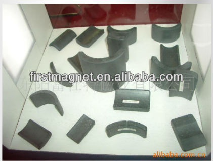 Ring Ferrite Magnets high performance Motor magnet Y30/Y35/C8/C1 rotor magnet First supply