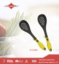 Plastic frying slotted spoon nylon kitchen utensils