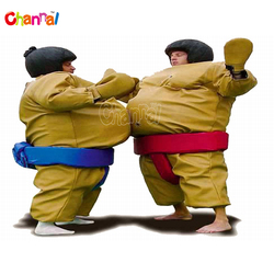 Inflatable adult sumo suits sports games sumo wrestling for sale