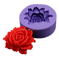Flower Silicone Resin Clay kitchen Handmade Resin Mold Japanese sweets