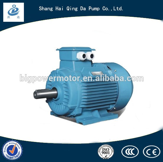 220v ac 22kw 30hp 50hz asynchronous electric motor