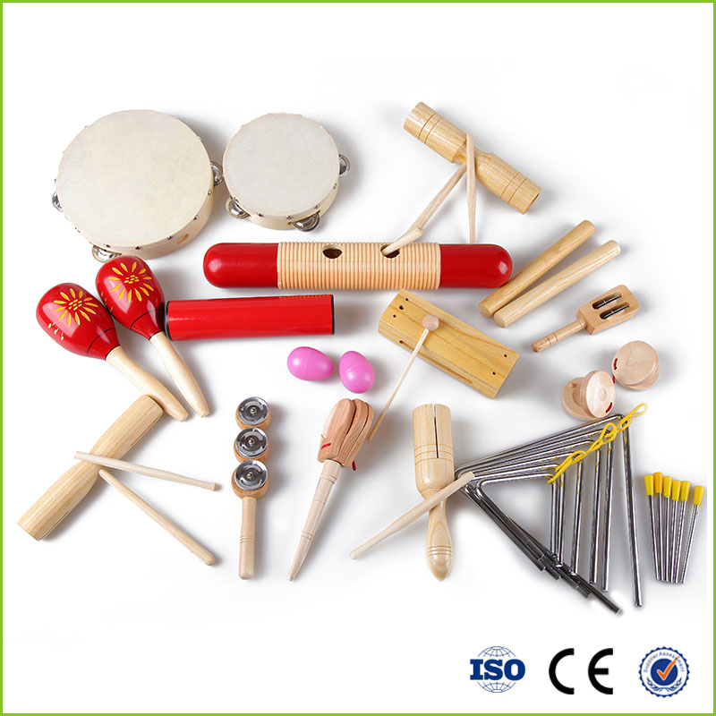 Educational orff instruments kids music toys set
