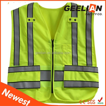 safety equipment for construction safety vest with many pocket
