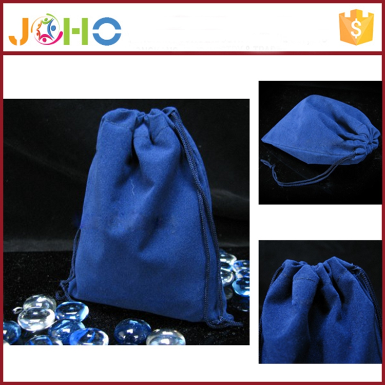 Bag Manufacturer 2016 Cheap Custom Fashion Velvet Fabric Jewelry bag for Jewellery Packing for sale