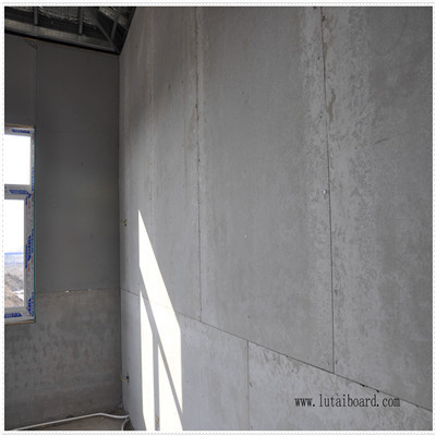 medium density wood fiber Cement Panel exterior wall partition cladding base panel drywall prefabricated floor ceiling tile