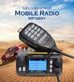ZASTONE MP380+ 25w car radio walkie talkie base station quad band Two Way Radio Amateur Radio Transceiver