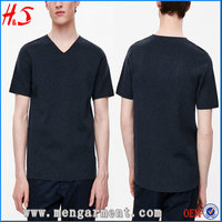Customized Blank Men's T-Shirt V-Neck Design T Shirt In Best Wholesale Website