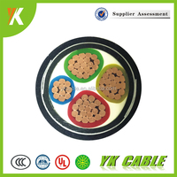Construction Multi Core XLPE insulated 16mm2 35mm2 4 core cable