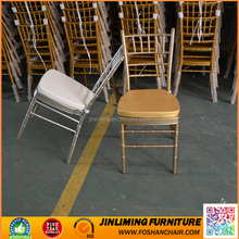 Factory directly supply stacking hotel hall chairs with cushion