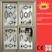 High Quality cheap entry door glass inserts SC-AAD079