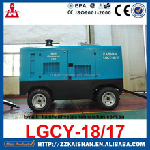 KAISHAN Portable Diesel Screw 250 psi Air Compressor Rotary Compressor