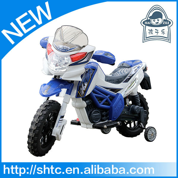 2016 new looking battery operated motorcycle with MP3