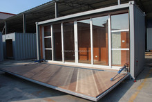 prefabricated Beautiful Luxury coffee container house
