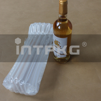wine glass bottle fill air bag packing