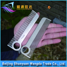 Titanium Personalized Hair Comb and Metal Comb Hair for Women Gift