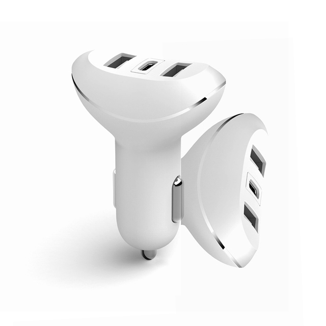 Hot sell 2 port taxi mi starting car charger