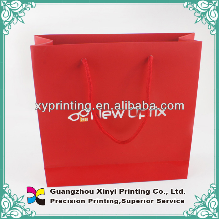 Cheap price custom size art paper craft paper popular hotsale paper garment shopping bag