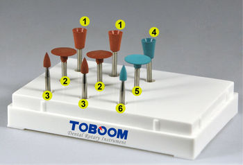 Toboom Dental Polishing Kit for Amalgam and Non-precious Alloys