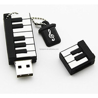 New products Piano shape pen drive , Pre load sex video USB flash