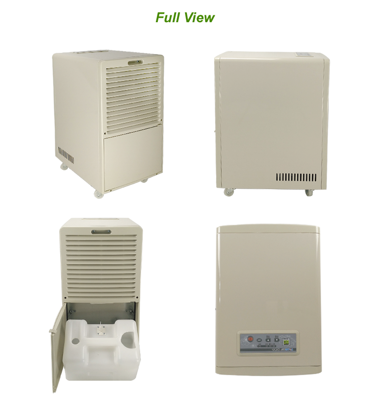 Attractive Portable Housing Unit Easy Home Dehumidifier 38 L/D With Universal Wheels