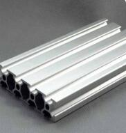 Customized 2080 Aluminum Extrusion Profile,Free cutting in any Length,Silvery Color.