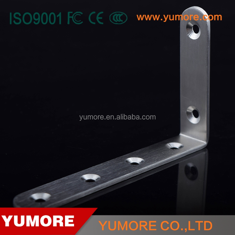 furniture corner brackets decorative metal wall mounting back support brace with steel