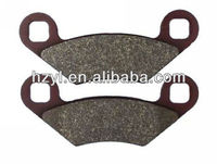 disc brake pads for three wheel go kart