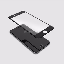 Mobile phone use 3D Curved clear invisible screen guard for iphone 6