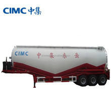 CIMC cement transport truck trailer