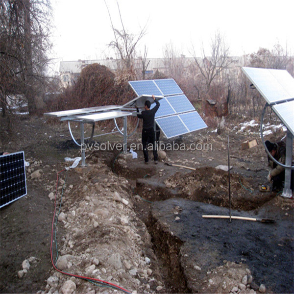 solar tracking frame adjustable solar ground mounting kits system ground bracket photovoltaic modules frames