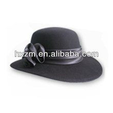 custom 2014 fashion 100% wool felt jewish hat