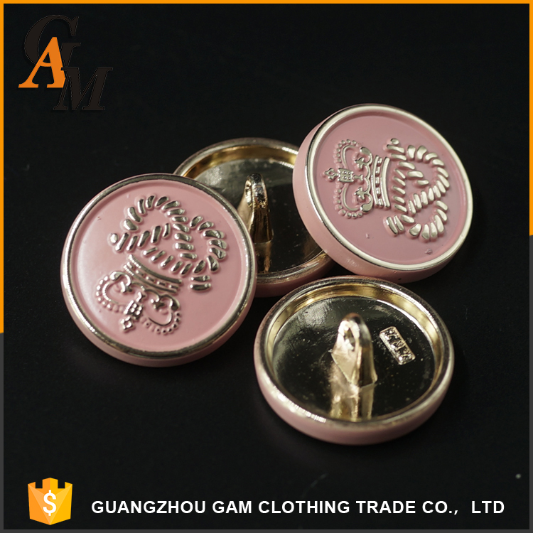 garment clothing accessories metal custom military uniform sewing different types of buttons