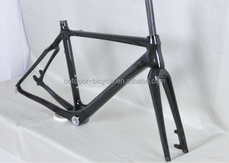 2014 disc brake carbon cyclocross frame BB30/BSA carbon cyclocross frame FM059