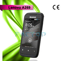 lenovo a269 dual sim card dual standby android 2.3 mobile phone java applications best sale