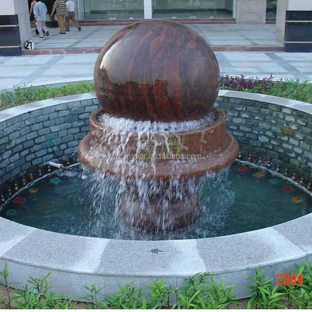 Art Moderne En Plein Air Jardin Sculpt La Main Statue De Marbre Naturel Fontaine Produits En