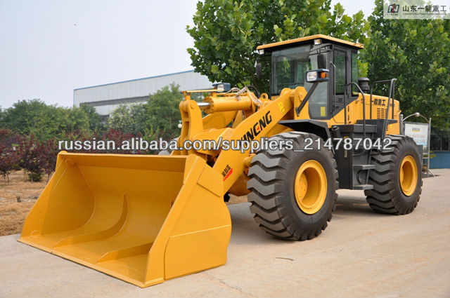 Weicai Deutz engin Luneng wheel loader with grass grasper /clamp Shan dong YIneng YN956 wheel loader