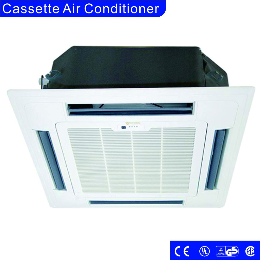 18000btu-60000btu househould high efficient ceiling cassette type air conditioner